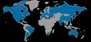 SCIIL-Weltkarte